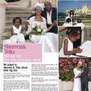 National Weddings Magazine - Real Wedding - Spring 2011