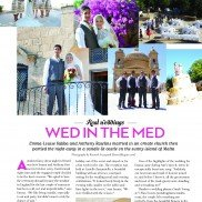 Wedding Venues and Services Magazine - Real Wedding - Oct to Dec 2011