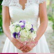 Bouquet purple chique2