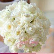 Bouquet white chique