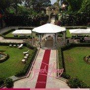 Ceremony in garden3