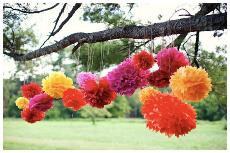 Image courtesy of: http://www.beforethebigday.co.uk/2013/05/colourful-paper-wedding-decorations.html